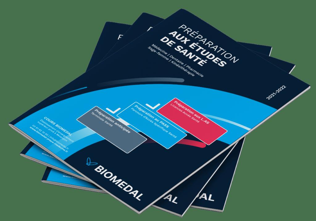 Découvrir notre prépa PASS - médecine à Besançon : brochures disponibles sur demande !